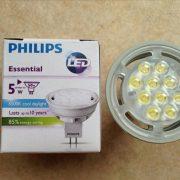 หลอดไฟ LED MR16 5w philips